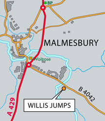 Willis Jumps Map